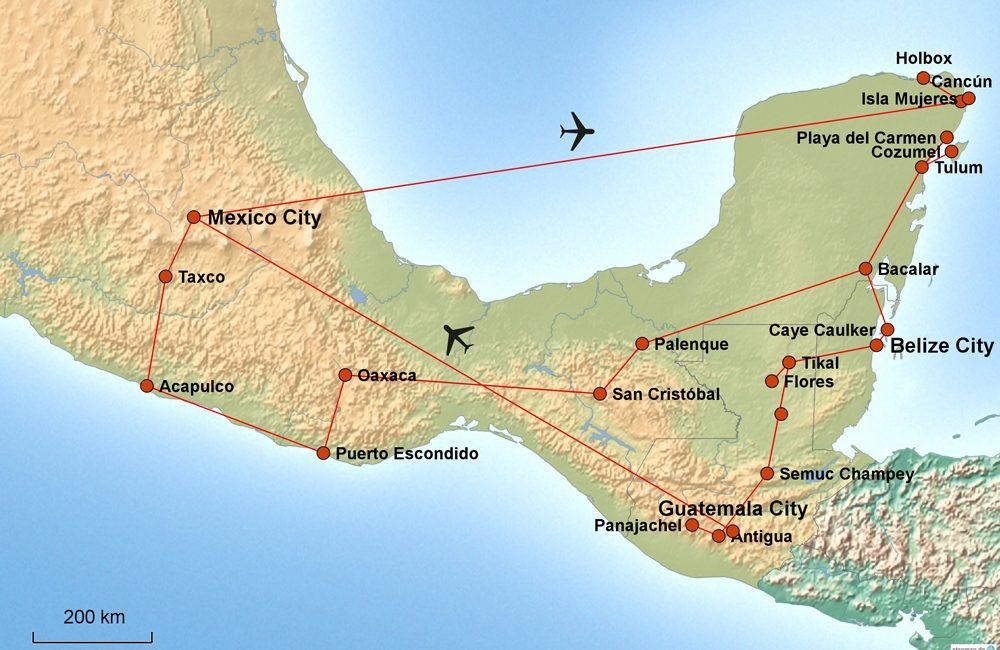Mexiko – Belize – Guatemala – Ein Rückblick!
