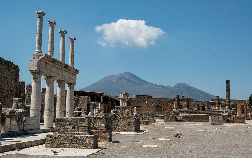 Italien – Pompeji  – Vesuv –  2020